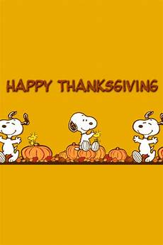 Lock Screen Snoopy Thanksgiving Iphone Wallpaper