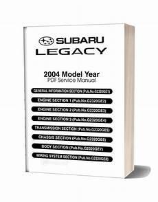 car repair manuals online pdf 2004 subaru legacy spare parts catalogs subaru legacy 2004 jdm service manual