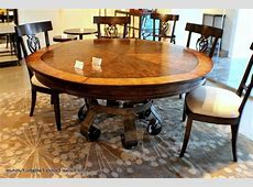 Furniture: Round Expandable Dining Table For Extraordinary