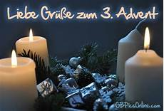 liebe gr 252 223 e zum 3 advent bild 21397 gbpicsonline