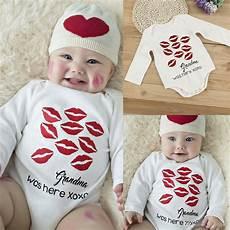 infant boy dress clothes 2017 newborn baby bodysuit lip prints cotton romper infant