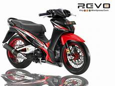Modifikasi Motor Revo 110 by Modifikasi Revo Modifikasi Honda Bebek Revo 110 Modifikasi