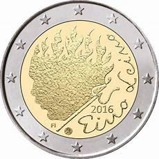 2 euros finlande 2 finland 2016 quot eino leino quot graf waldschrat de