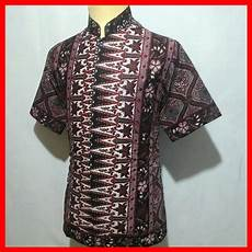 jual kemeja batik pria baju batik koko cowok bk10 di lapak javabatika javabatika