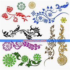 Gambar Contoh Gambar Dekoratif Hewan Tumbuhan Motif Hias