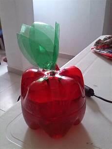 como hacer una manzana con botellas como hacer una manzana con botellas pet manualidades
