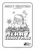 Cool Coloring Pages Santa Claus No 1 Page