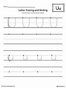 letter tracing worksheets u 23322 uppercase letter u template printable myteachingstation