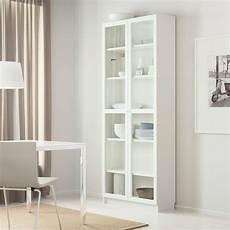 librerie moderne economiche billy oxberg bookcase white ikea