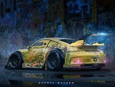 Top 10 Cyberpunk Car Renders Designed By Concept Artist