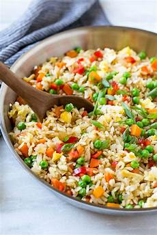 veggie fried rice dinner at the zoo