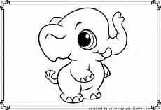 baby elephant coloring pages at getcolorings