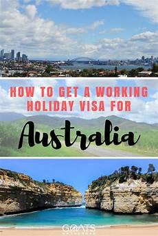 get australia how to get a working visa in australia