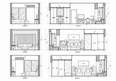 Kitchen Plan Elevation And Section by Autocad Elevation Drawings Free Plan Of Interior Design