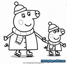 Peppa Pig Ausmalbilder Peppa Pig Birthday Coloring Pages Coloring Pages For