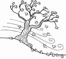 Malvorlagen Herbst Baum Kostenlose Malvorlage Herbst Herbstbaum Zum Ausmalen