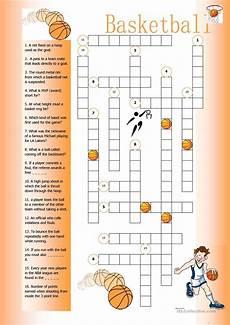 basketball crossword worksheet free esl printable worksheets made by teachers