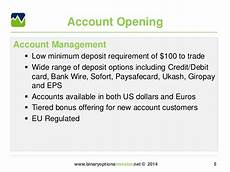 banc de binary minimum deposit 5 minimum deposit binary options escola joso centro de