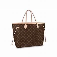 Neverfull Gm Monogram Canvas Handbags Louis Vuitton