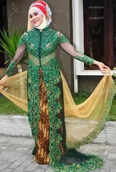 10 Model Baju Kebaya Gamis Untuk Orang Gemuk Simpel Modis