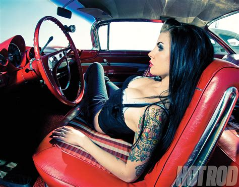 Pinup Hot Rods