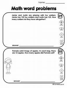 word problems 2nd grade worksheets free 11438 word problem worksheets 1st grade and 2nd grade by dupuis education