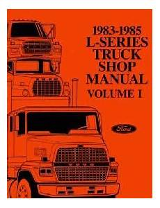 best car repair manuals 1985 ford e series on board diagnostic system 1983 1985 ford l series truck factory shop manual cd rom