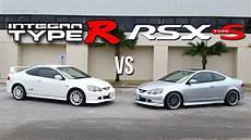 integra type r vs acura rsx type s youtube