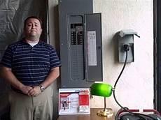 how to use a generator interlock kit youtube