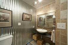 Bathroom Ideas Using Corrugated Metal by Corrugated Metal In Interior Design Creative Ideas For