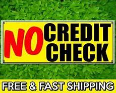 rent to own no credit check no down payment no credit check vinyl sign 13oz banner w grommets financing bad credit ebay