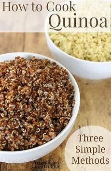 how to cook quinoa 3 easy methods stovetop crock pot