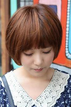 20 inspirations of cute korean hairstyles for short hair