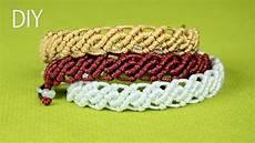 Makramee Armband Anleitung - diy wavy macrame bracelets