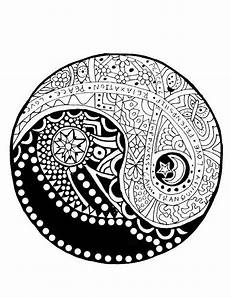 yin and yang coloring pages at getcolorings free