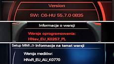 audi mmi version check 2g 3g 3g rmc high low basic