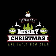 we wish you a merry christmas and happy new year v2 graphics svg eps png pdf vector art clipart