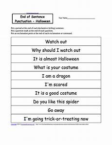 punctuation worksheets period question 20879 activities writing worksheets enchantedlearning