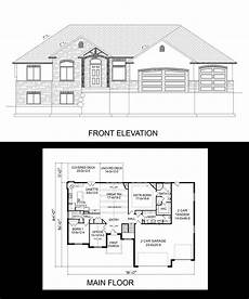 rambler house plans with basement r 2123 pdf in 2020 basement house plans rambler house