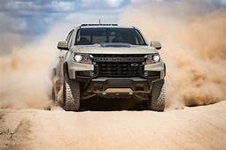 2021 Chevrolet Colorado ZR2 Changes Up Its Grille — Other