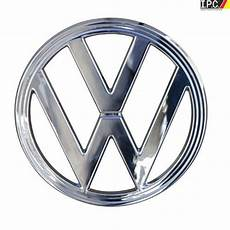 vw nose emblem chrome steel 10 quot vw emblems vw