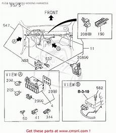 1995 honda passport radio wiring honda passport 1995 s 4dr ex w 4x4 v6 ka kl fuse box cabin wiring harness schematic