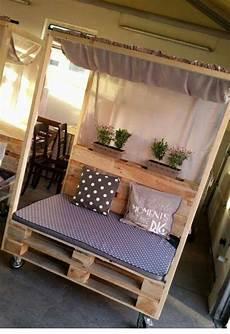 Sommerbett Paletten Diy Diy Und Selbermachen