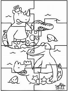 puzzle babar puzzel malvorlagen vorlagen