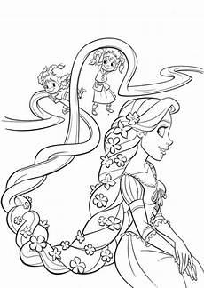Gratis Malvorlagen Rapunzel Rapunzel 25 Ausmalbilder Ausmalen Malvorlage Prinzessin