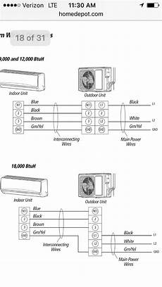 gree split air conditioner wiring diagram gree crown mini split new install initial startup today inside unit appears to work no