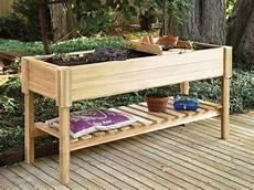 Hochbeet Balkon Selber Bauen Bepflanzen Holz Arbeitshoehe