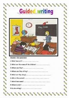 guided writing worksheets for grade 3 22911 guided writing esl worksheet by sirah