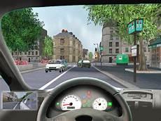 jeux de permi de voiture simulateur de conduite 3d code de la route