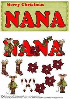 merry christmas nana cup145505 49 craftsuprint